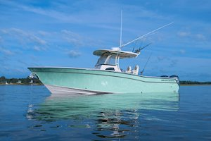 Grady-White Canyon 306 30-foot center console boat profile
