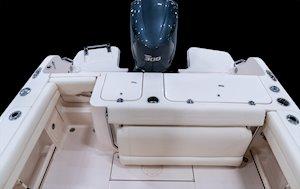 Grady-White Fisherman 236 23-foot center console cockpit overall
