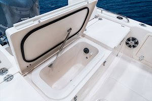 Grady-White 251 CE 25-foot Coastal Explorer fishing boat livewell