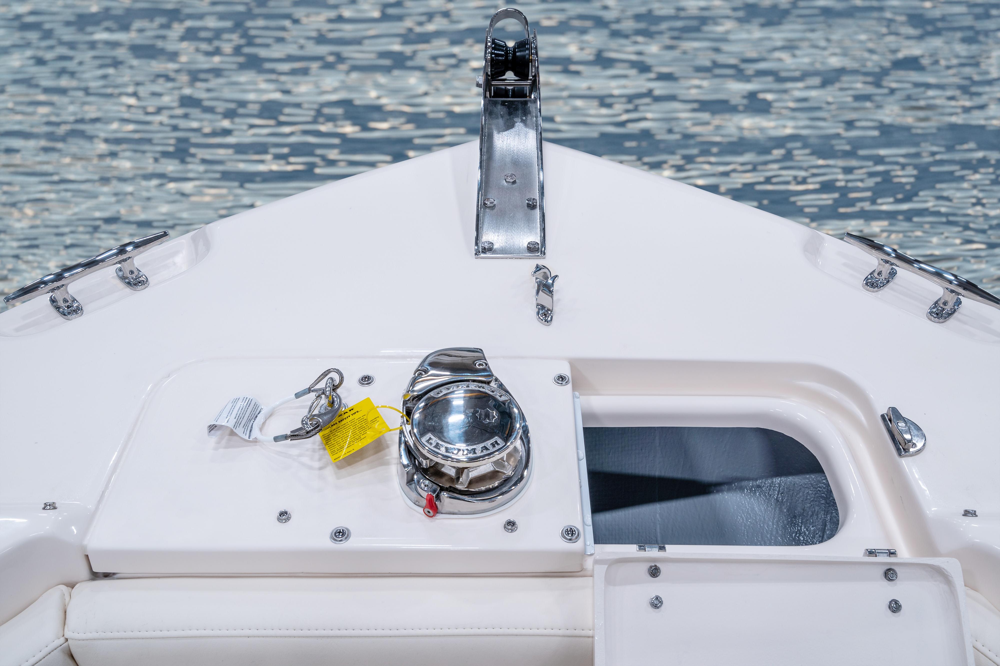 Grady-White Freedom 255 25-foot dual console windlass