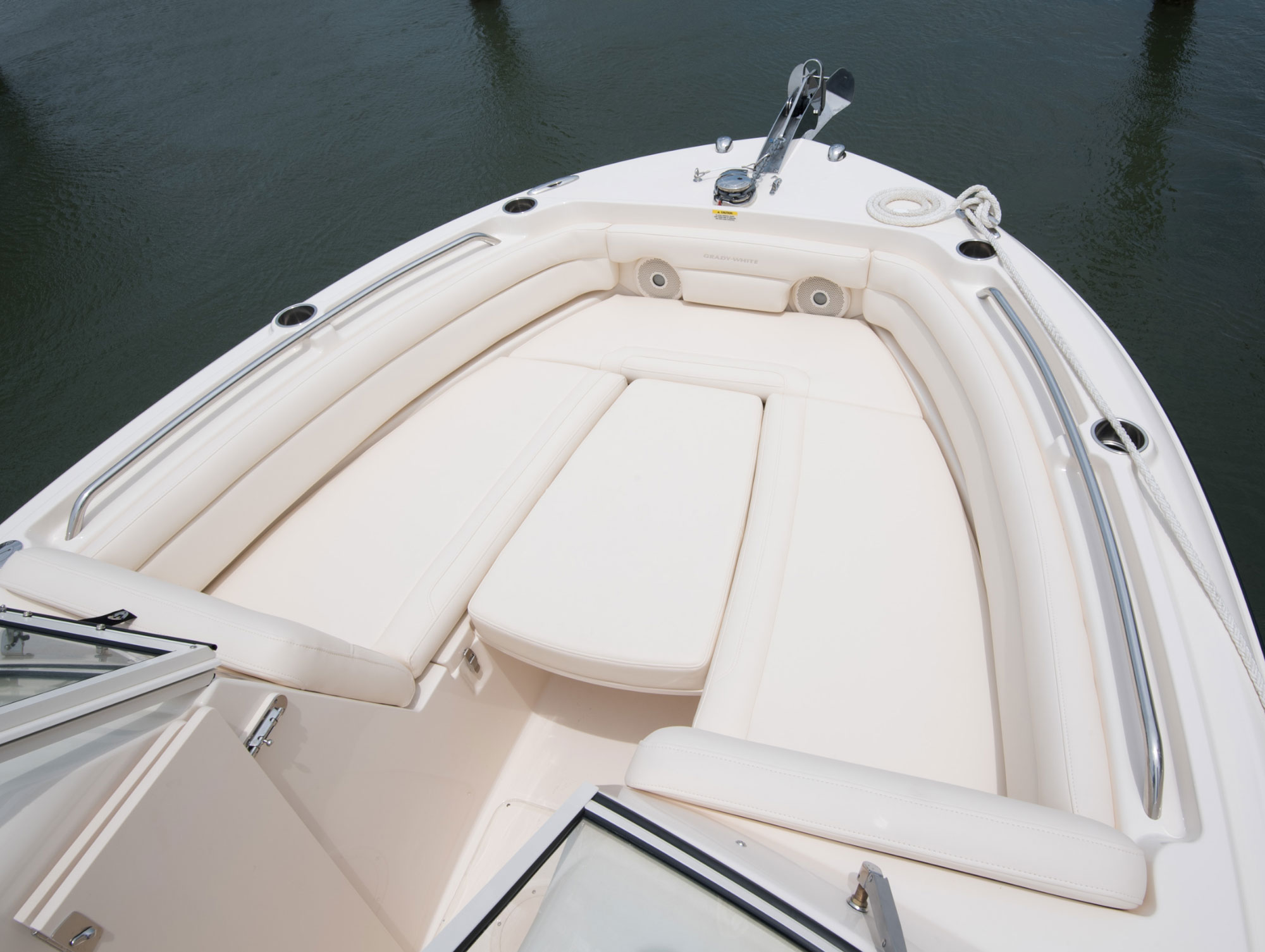 Grady-White Freedom 235 23-foot dual console sun platform