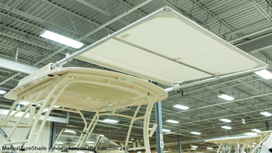 Grady-White Freedom 235 23-foot dual console manual SureShade