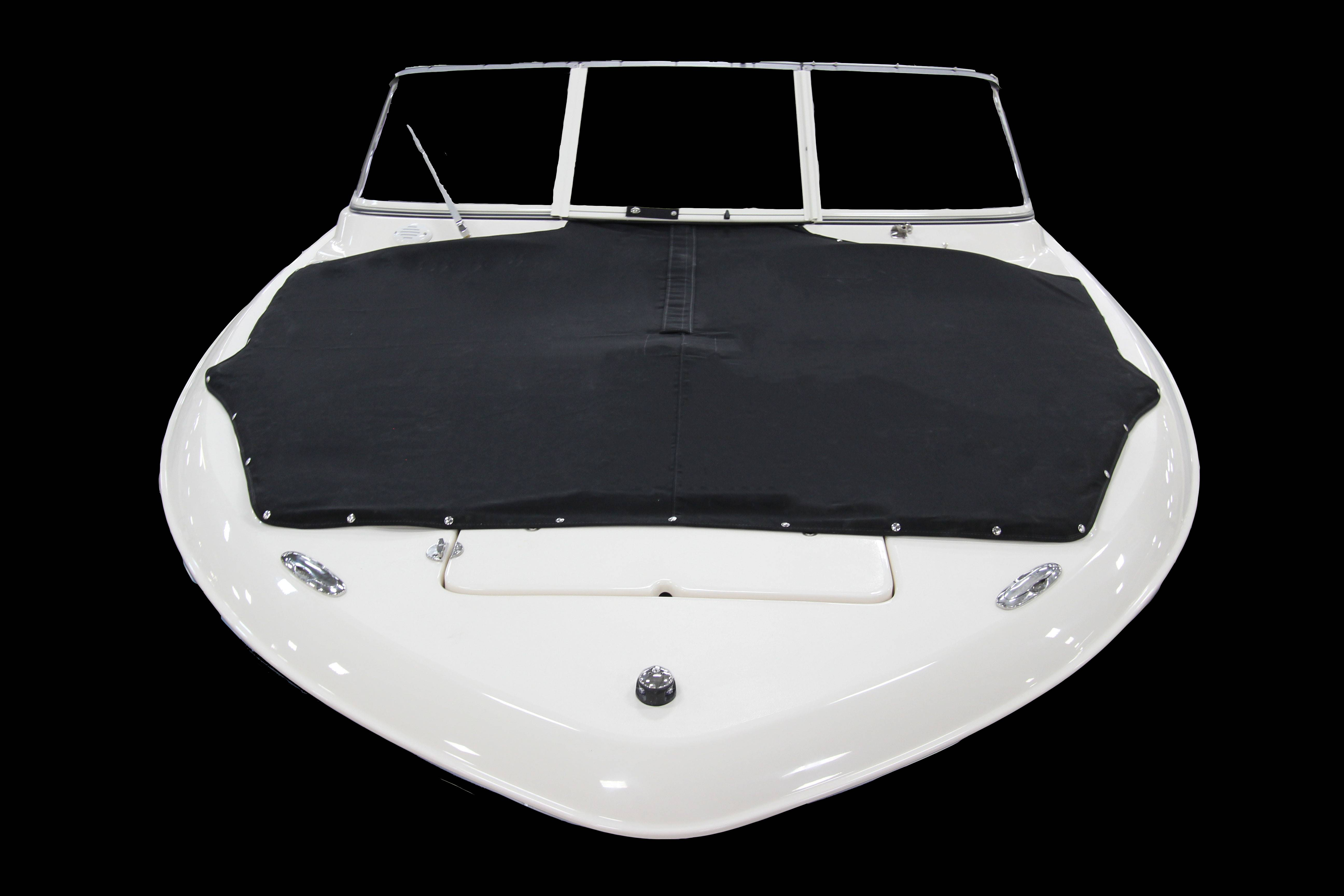 Grady-White Freedom 215 21-foot dual console black bow cover