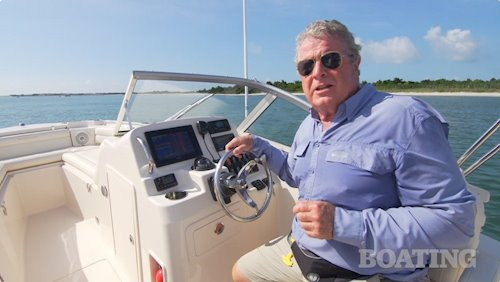 Boating's Randy Vance on the <em>Freedom 215</em>