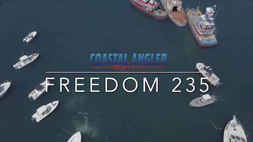 Coastal Angler reviews the <em>Freedom&nbsp;235</em>