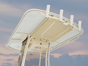Grady-White Fisherman 216 21-foot center console T-top with optional color