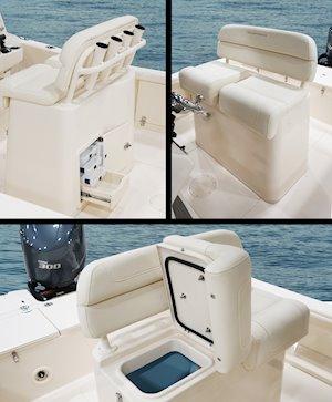 Grady-White 251 CE 25-foot Coastal Explorer fishing boat deluxe lean bar