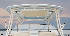 Grady-White Freedom 285 28-foot dual console hardtop with optional color
