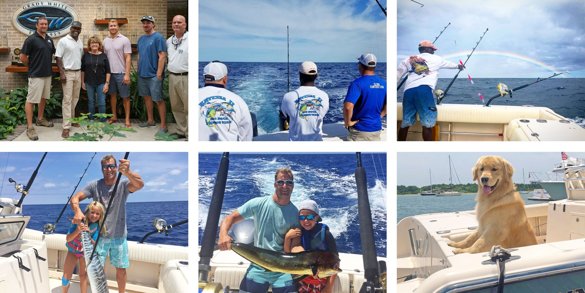 Fishing with family, friends and Grady Buddies on the Katessa II