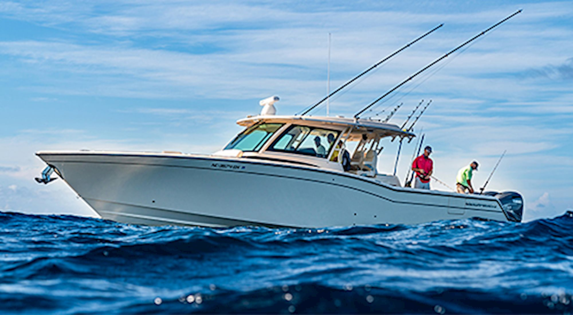 Grady-White's flagship, the Canyon 456, is a fishing machine.