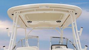 Grady-White Freedom 275 27-foot dual console boat hardtop