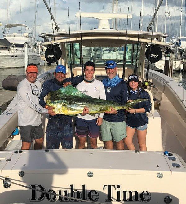 The Castillo family loves spending time together fishing on their Grady-White boat.