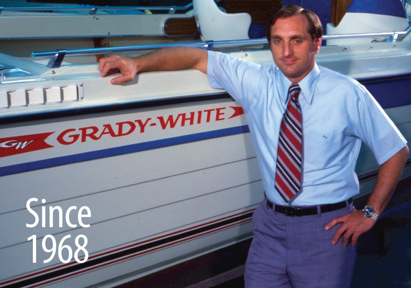 Eddie Smith purchased Grady-White boats in 1968.