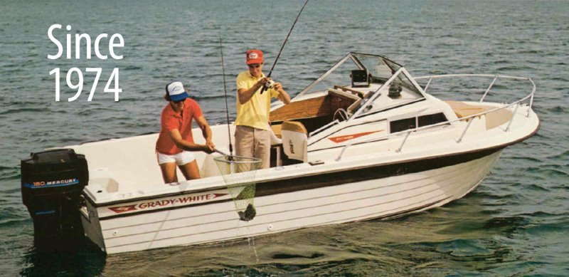 Using customer input, Grady introduces the best walkaround cabin boat.