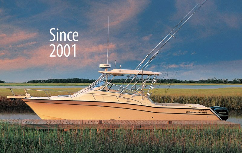 The Express 330, was hailed as Boating magazine's Boat of the Year for room, comfort and proficiency in sportfishing.