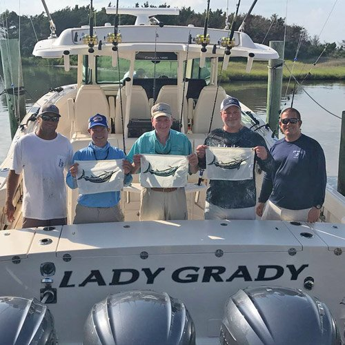 Grady's flagship, the Canyon 456, proves offshore fishability in maiden tournament outing.