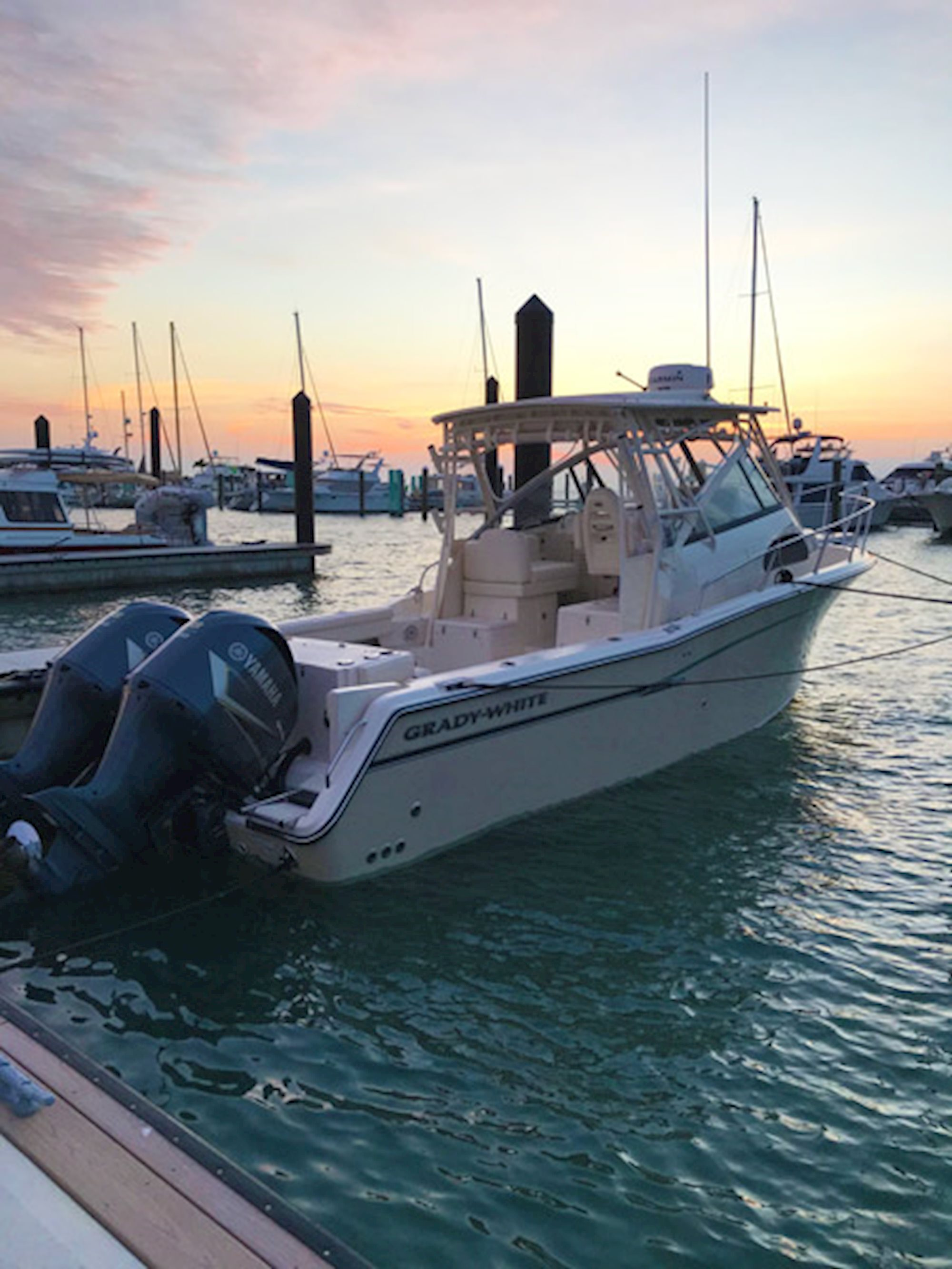 Marlin 300 owner, Bill Hayes still marvels at the beauty of a Grady-White boat.