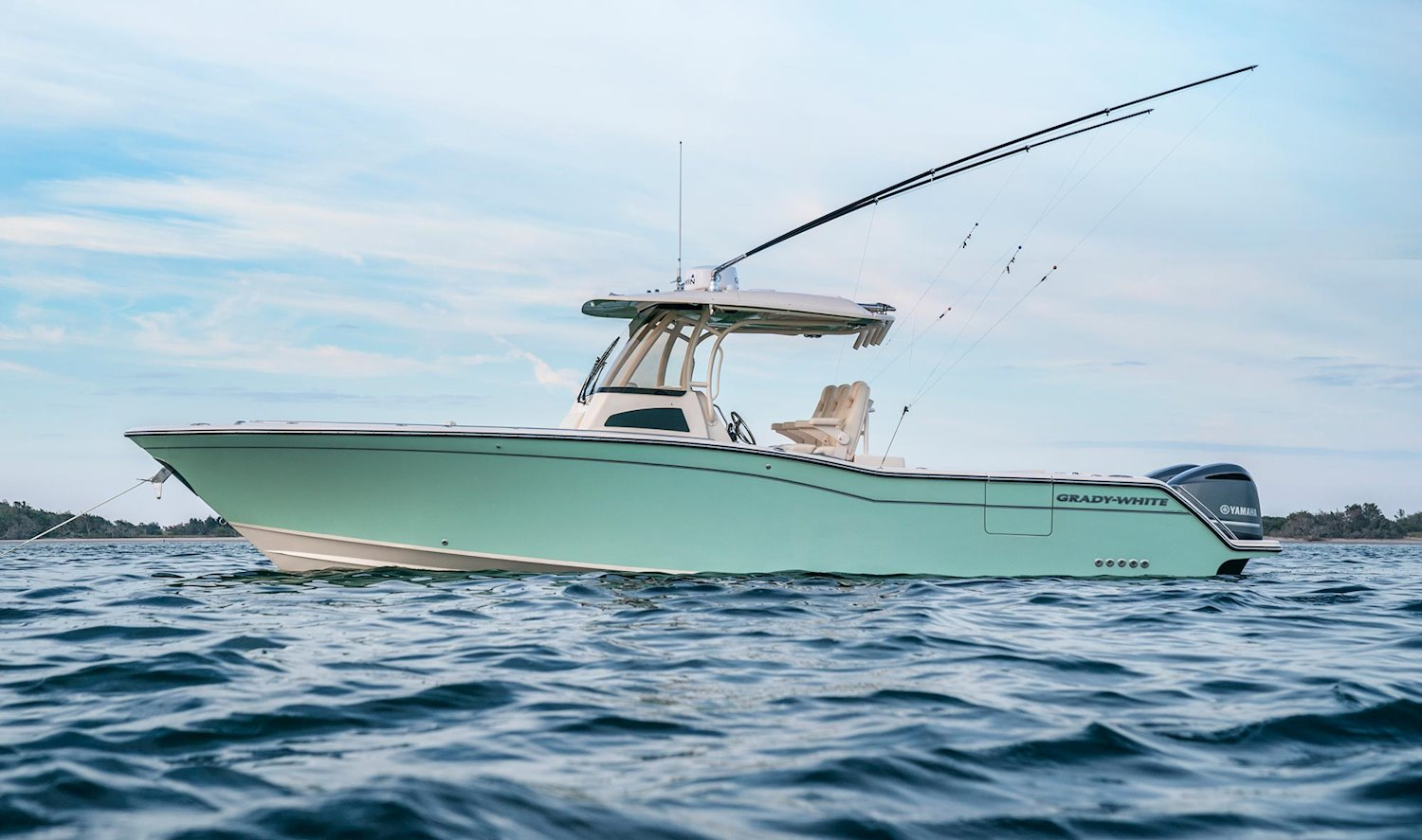 Grady White Dual Center Console Saltwater Fishing Boats