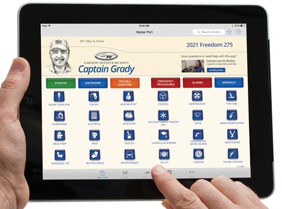 Grady White Boats Captain Grady App