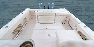 Grady-White Freedom 307 30-foot dual console cockpit overall