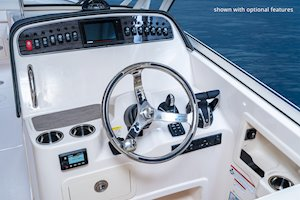 Grady-White Freedom 307 30-foot dual console helm overall