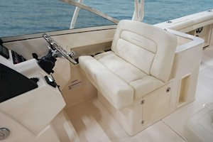 Grady-White Freedom 275 27-foot dual console boat optional helm seating