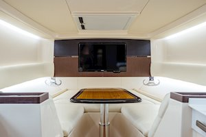 Grady-White Canyon 456 45-foot center console fishing boat console interior