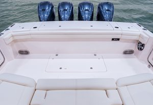 Grady-White Canyon 456 45-foot center console fishing boat cockpit