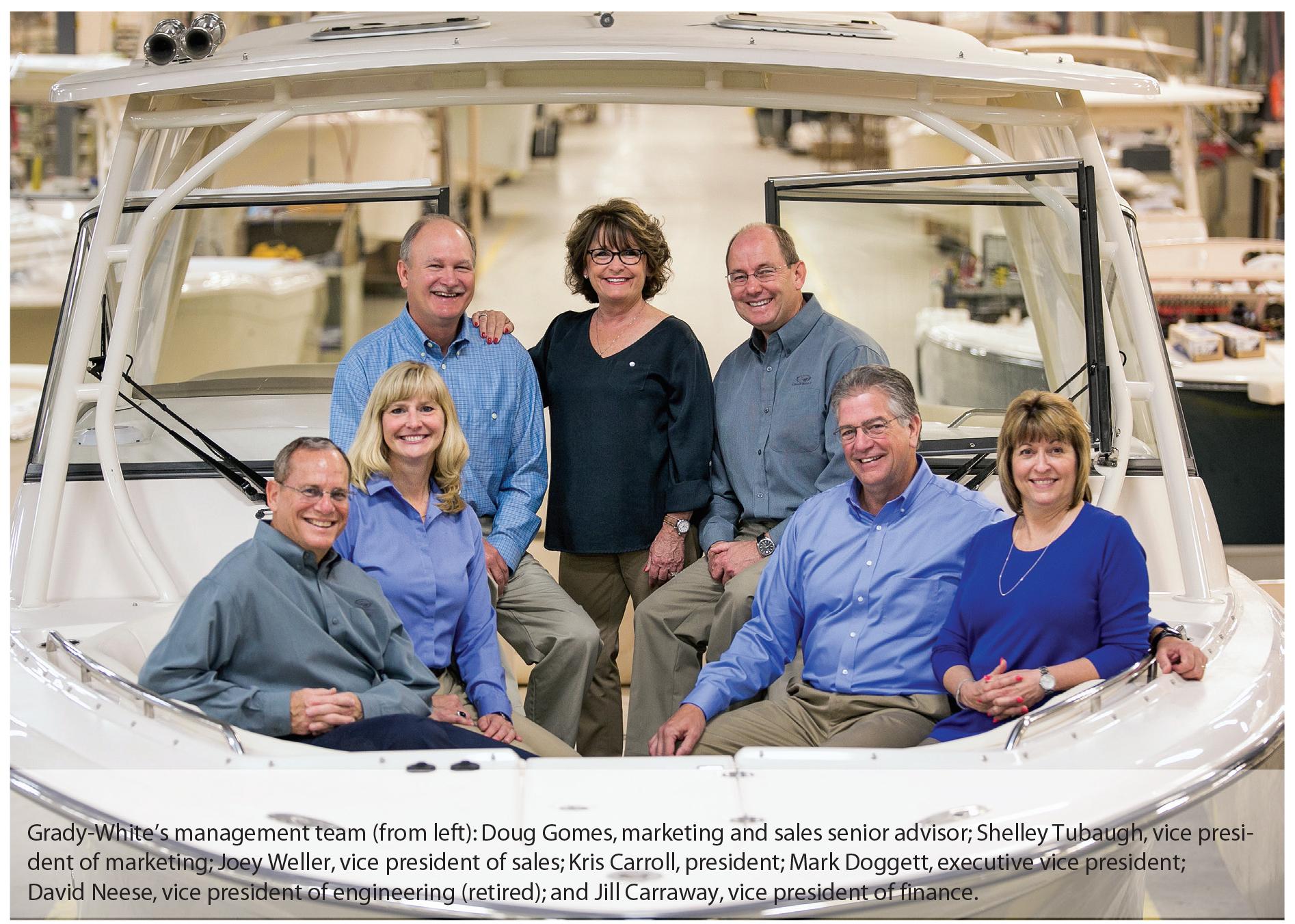 Grady-White's management team