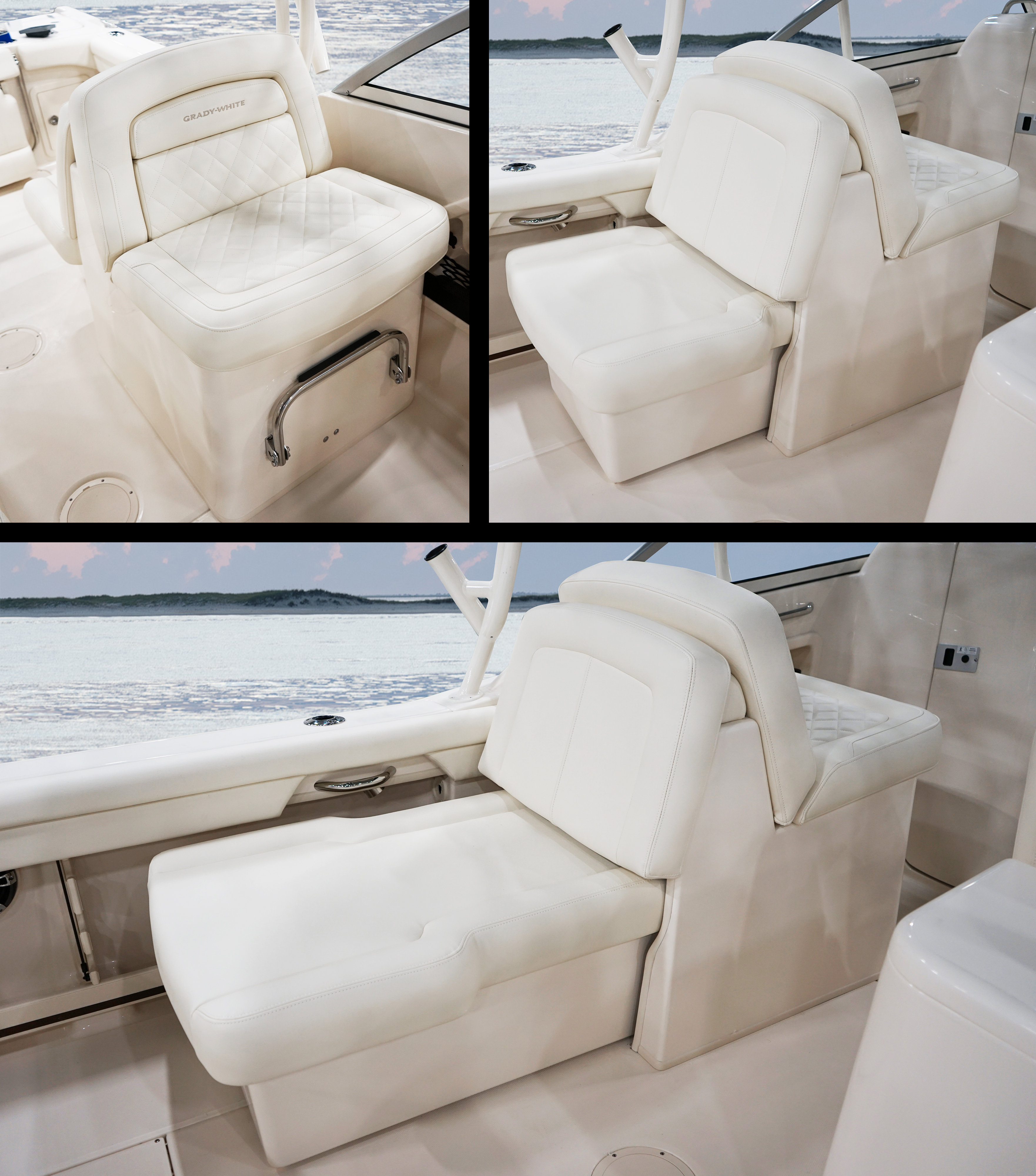 Grady-White Freedom 255 25-foot dual console deluxe companion seat