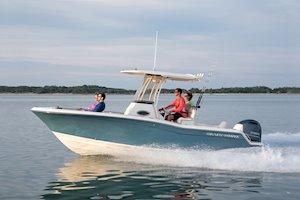 Grady-White Fisherman 216 21-foot center console boat running