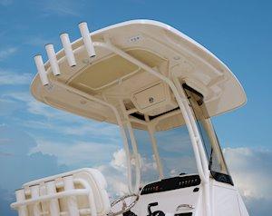 Grady-White Fisherman 216 21-foot center console t-top