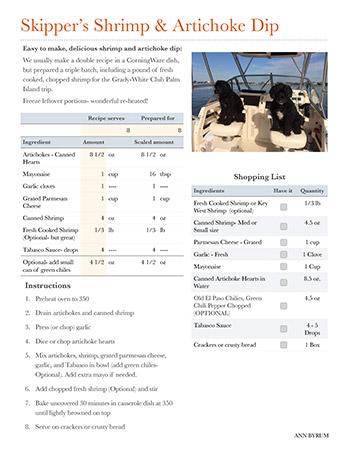 Skipper's Shrimp & Artichoke Dip Recipe