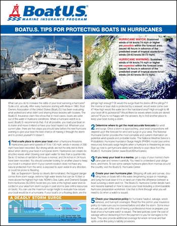 Hurricane Tipsheet