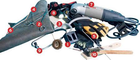 Top ten boat tools